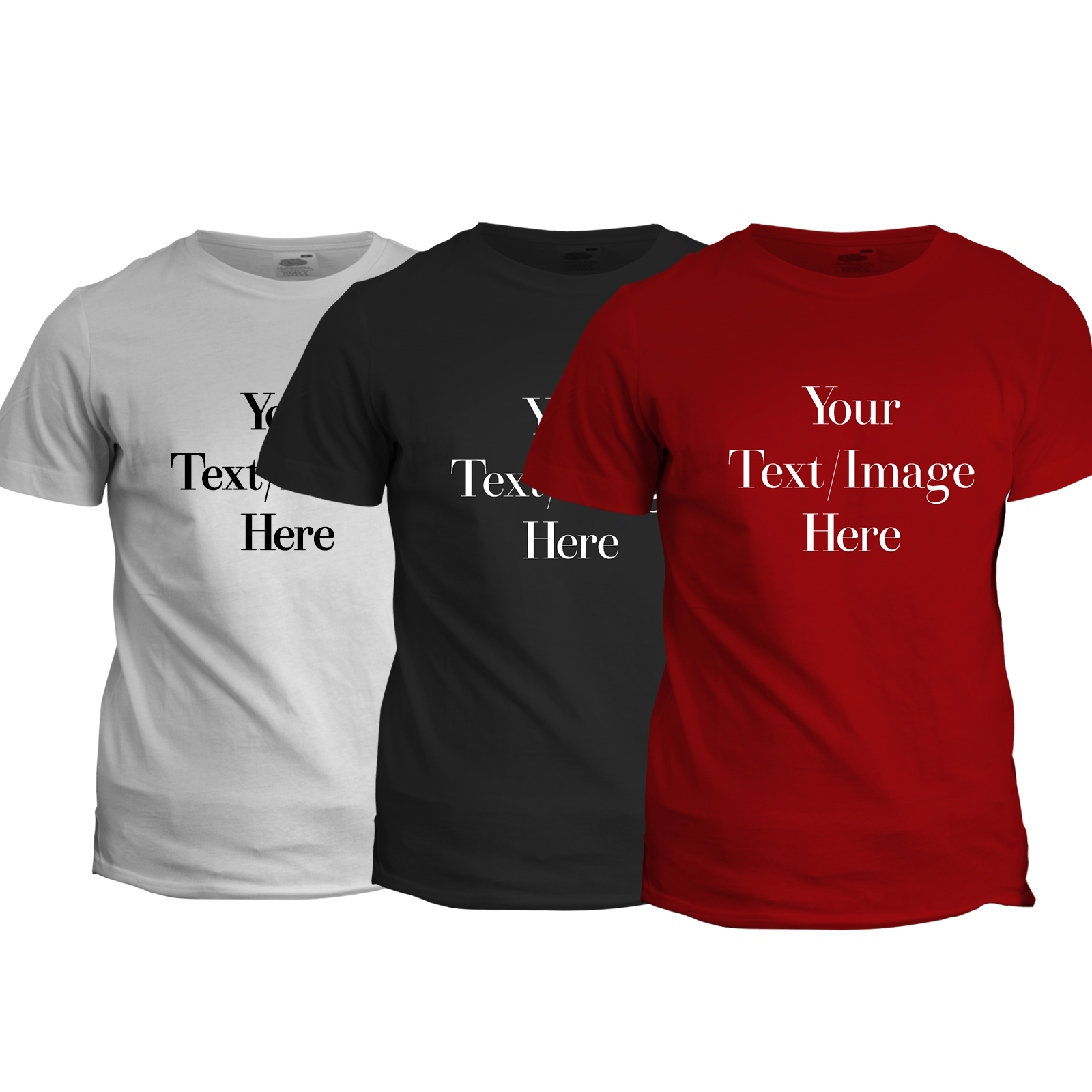 One color print custom t shirt glc creative designs for Custom tee shirt printing
