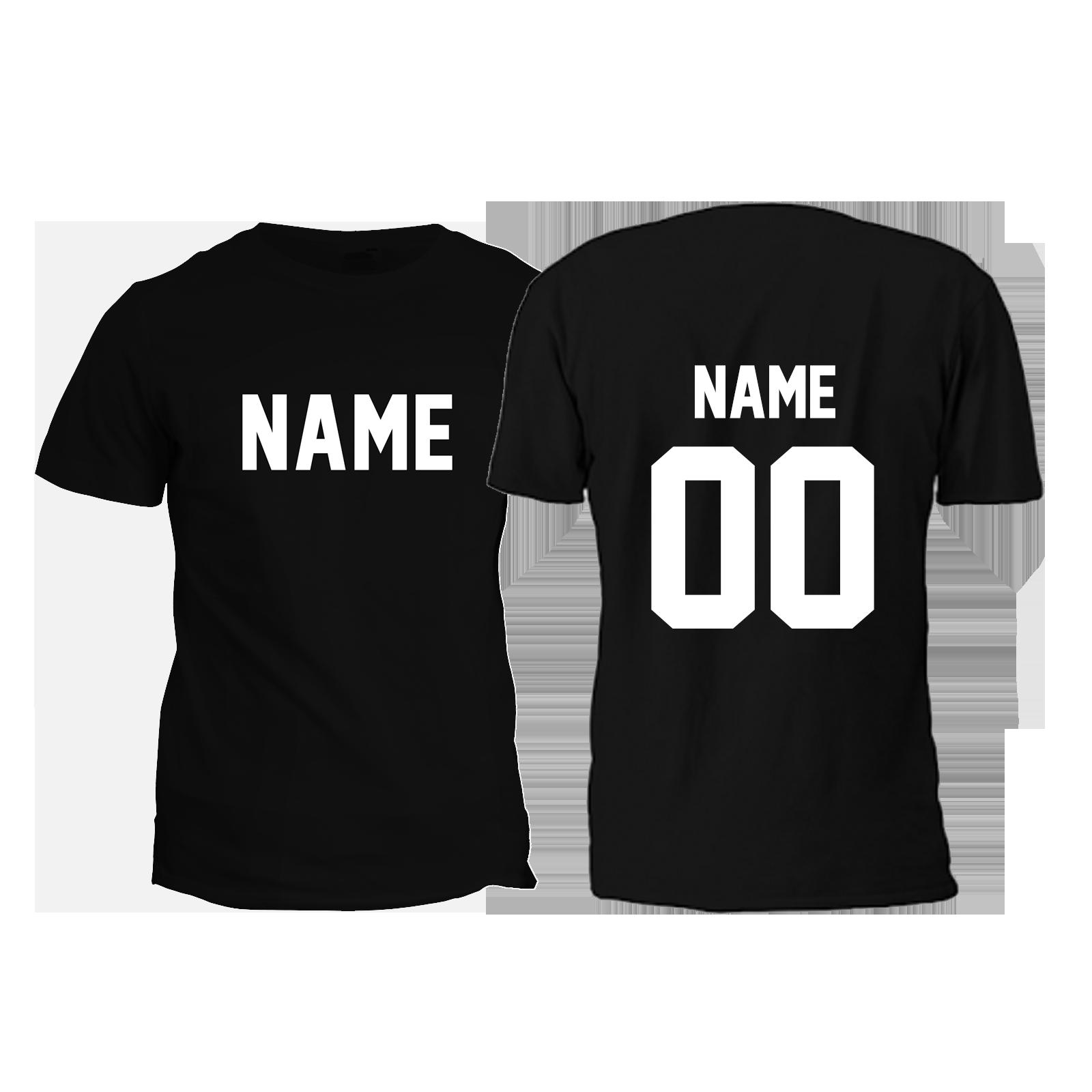 Jersey Style Custom T Shirt Glc Creative Designs